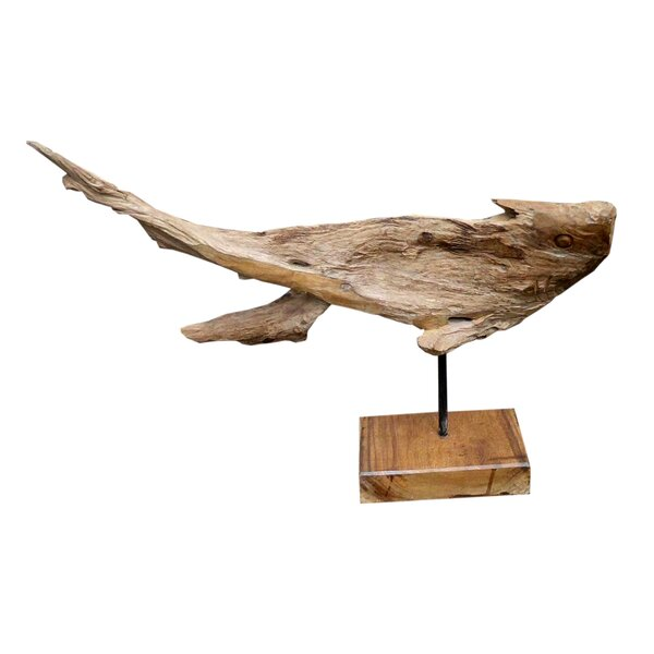 Fish Head Art Statue by Loon Peak
