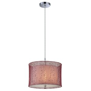 Mira 1-Light Drum Pendant  sc 1 st  Wayfair & Red Shade Kidsu0027 Pendant Lighting Youu0027ll Love | Wayfair azcodes.com