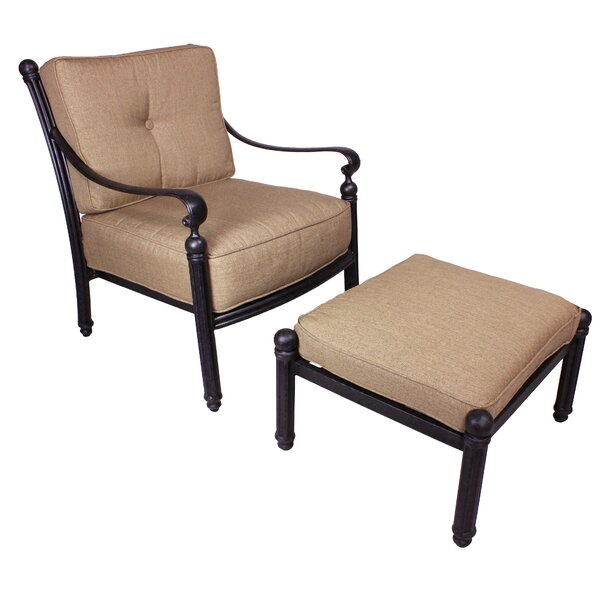 Schleicher Deep Seating Chair with Cushion by Fleur De Lis Living Fleur De Lis Living