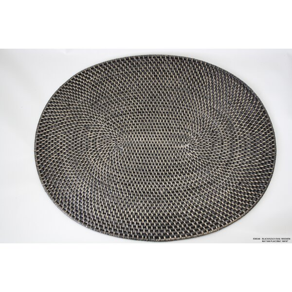 Wooven Rattan Placemat (Set of 4) by Desti Design