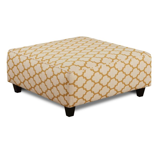 Ballina Citrine Cocktail Ottoman by Wrought Studio