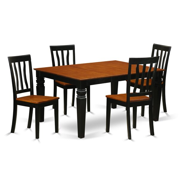 Arehart  5 Piece Dining Set by Darby Home Co