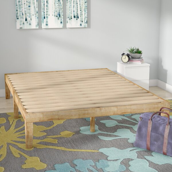 Tomah Solid Wood Platform Bed by Mistana