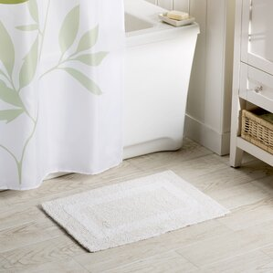 Bath Rugs Bath Mats Youll Love Wayfair - Rubber backed bath mats for bathroom decorating ideas