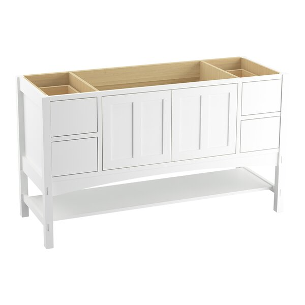 Marabou™ 60 Vanity with 2 Doors and 4 Drawers, Split Top Drawers by Kohler