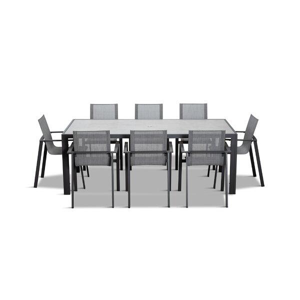 Gilda 9 Piece Dining Set by Ebern Designs