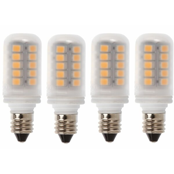 3W E11 LED Capsule Light Bulb (Set of 4) by Newhouse Lighting
