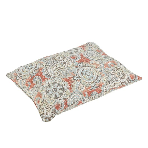 Handley Piped Edge Indoor/Outdoor Floor Pillow by Mozaic Company