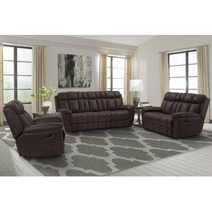 Ernö Reclining Configurable Living Room Set by Red Barrel Studio®