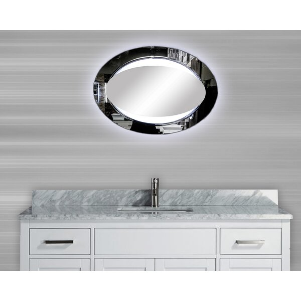 Paris Sensor Activated LED Bathroom/Vanity Mirror by MTD Vanities