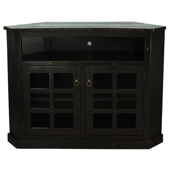 Roisin Solid Wood Corner TV Stand For TVs Up To 65