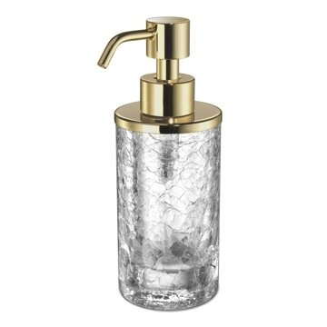Minis Round Crystal Glass Soap Dispenser by Windisch by Nameeks