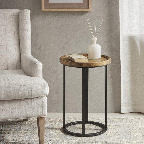 Martha Stewart Irisa End Table By Martha Stewart