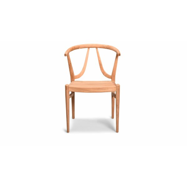Albro Patio Dining Chair by Bungalow Rose