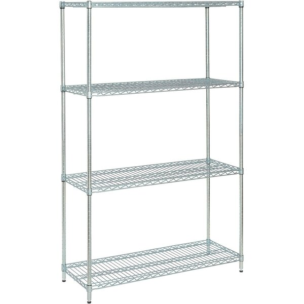 Best Value 74 H  Four Shelf Shelving Unit by Nexel