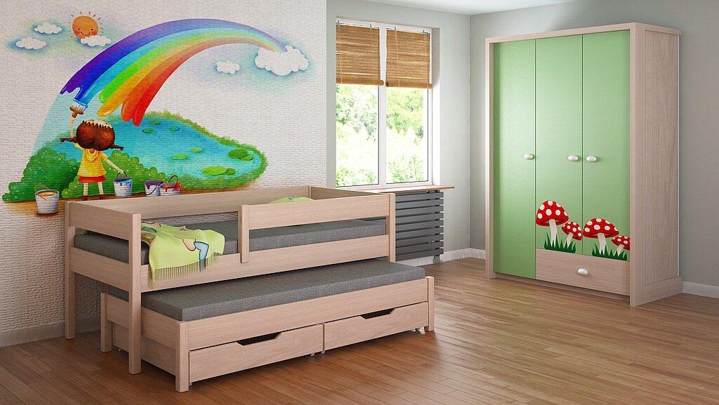 hochbett mit schubladen cool hochbett spielbett pinoo mit. Black Bedroom Furniture Sets. Home Design Ideas
