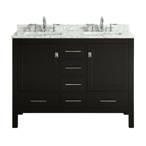 Furlow 48 Double Bathroom Vanity Set by Wrought Studio