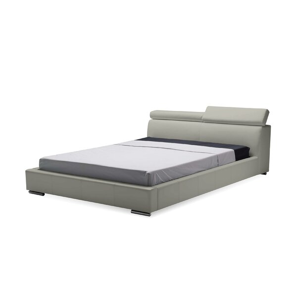 Perlas Upholstered Platform Bed by Latitude Run