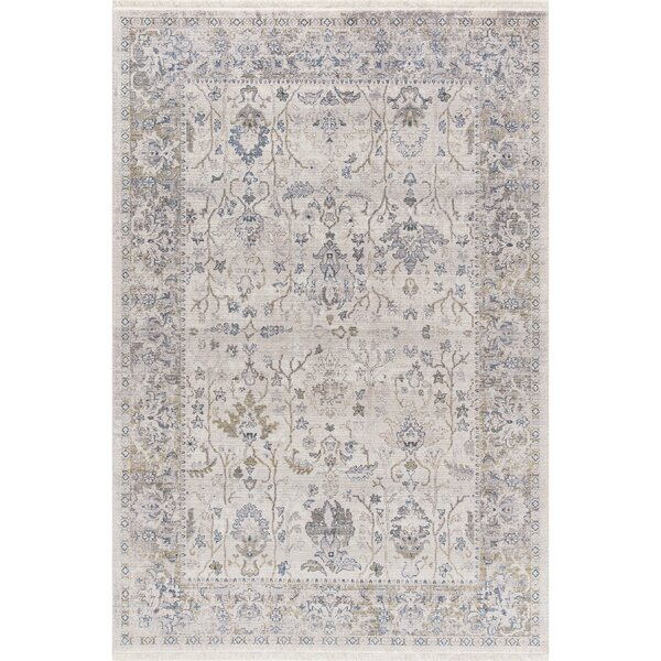 Irvington Ivory Area Rug by Charlton Home
