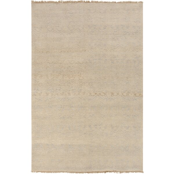 Syrine Ivory Solid Rug by August Grove