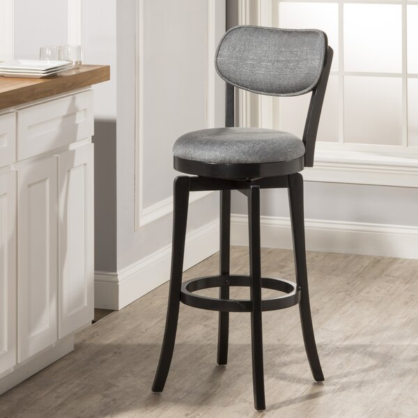 Jimenes 30 Swivel Bar Stool by Red Barrel Studio