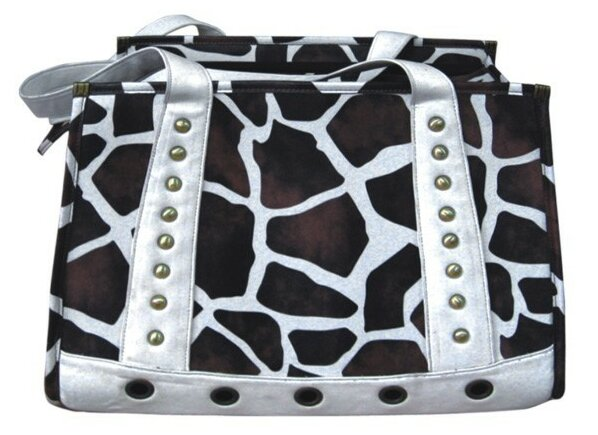 Giraffe Handbag Pet Carrier by Backbone Pet