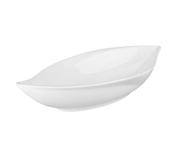 White Leaf Bowl (Set of 4) by BIA Cordon Bleu