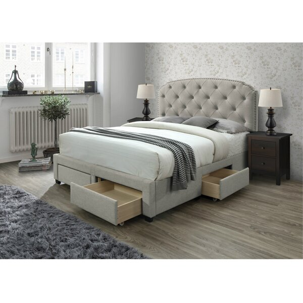 Abbingt Upholstered Storage Standard Bed by Grovelane Teen