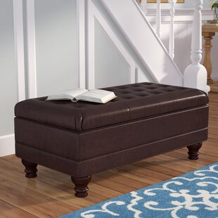 Reviews Bowyar Storage Ottoman By Darby Home Co