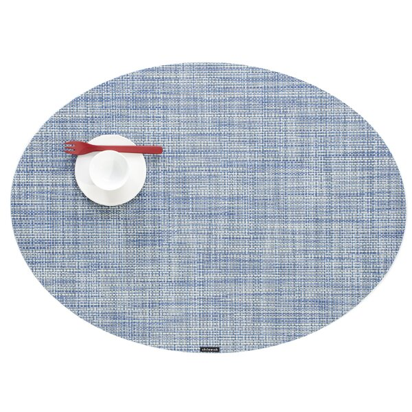 Mini Basket weave Oval Table Placemat by Chilewich