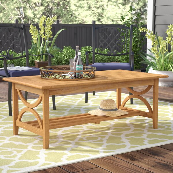 Brunswick Teak Coffee Table by Birch Lane™ Heritage