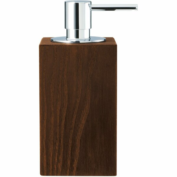 Patin Countertop Kitchen or Lotion Dispenser Ash Soap Dispenser by Bloomsbury Market