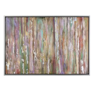 Choices Abstract Framed Painting Print by Mercer41