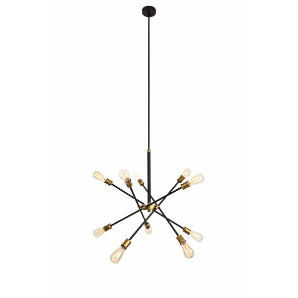 Caden 10-Light Sputnik Chandelier by Langley Street