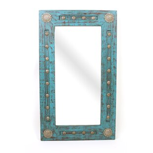 Beckett Silver Trails Concho Accent Mirror by Bloomsbury Market