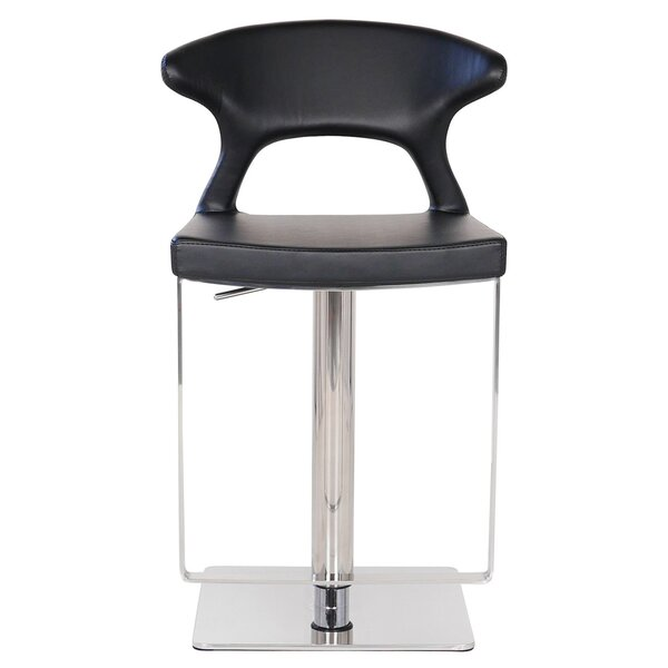 Hugo Hydraulic Adjustable Height Bar Stool by PoliVaz