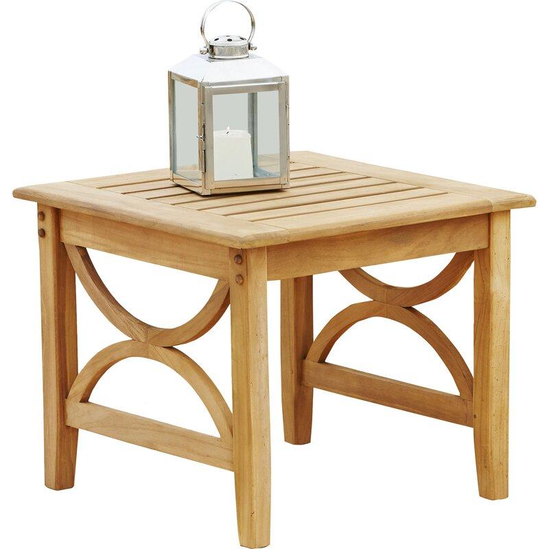Outdoor Teak Side Table.Brunswick Teak Side Table
