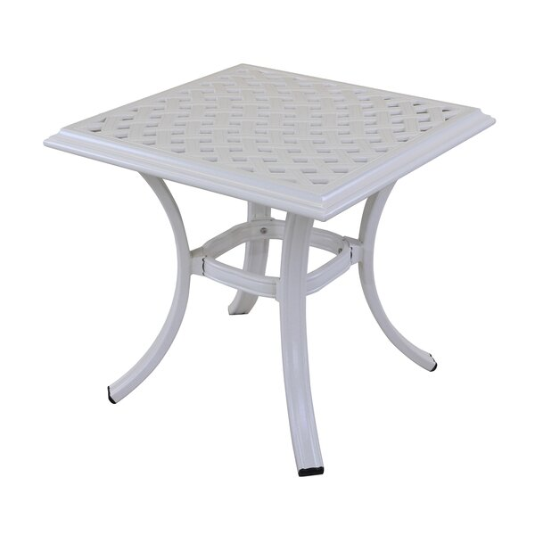 Dalessio Standard Aluminum Side Table by Darby Home Co