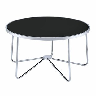 Price Check Talamantez Contemporary Round Living Room Coffee Table By Orren Ellis