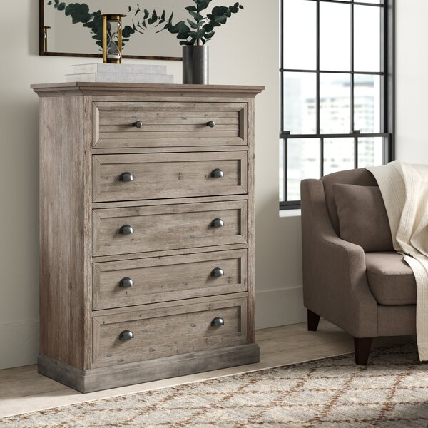 Lenwood 5 Drawer Chest by Greyleigh