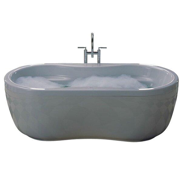 Mega Duo 71 x 35 Soaking Bathtub by Kaldewei