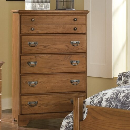 Tottenville 5 Drawer Chest by August Grove