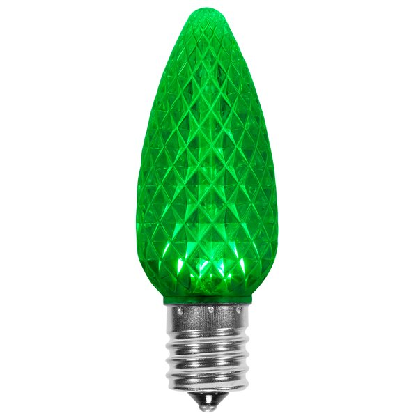 120W Green E17/Intermediate LED Light Bulb (Set of 25) by Wintergreen Lighting
