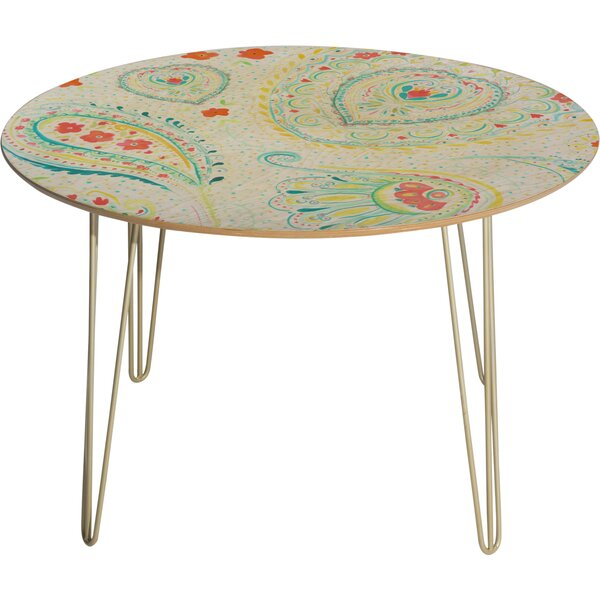Jacqueline Maldonado Watercolor Paisley Dining Table by Deny Designs