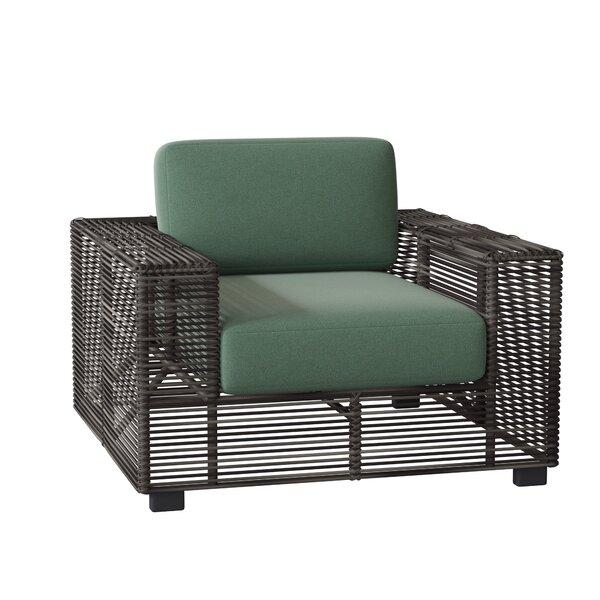 Monroe Patio Chair with Cushions by Woodard Woodard