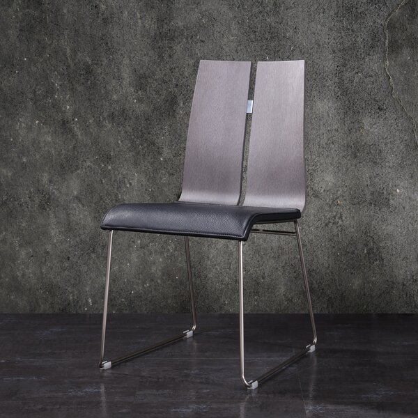 Alydar Upholstered Side Chair In Chrome (Set Of 2) By Orren Ellis