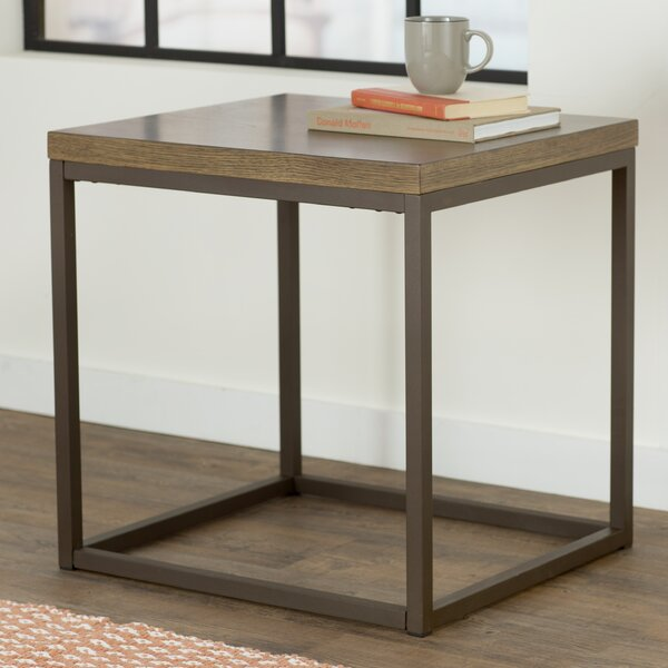 Helene End Table by Mercury Row