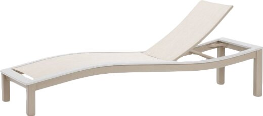 Bazza Reclining Chaise Lounge by Telescope Casual