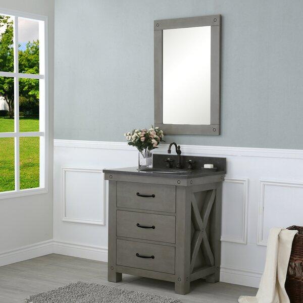 Cleora 30 Single Bathroom Vanity Set with Mirror by Williston Forge