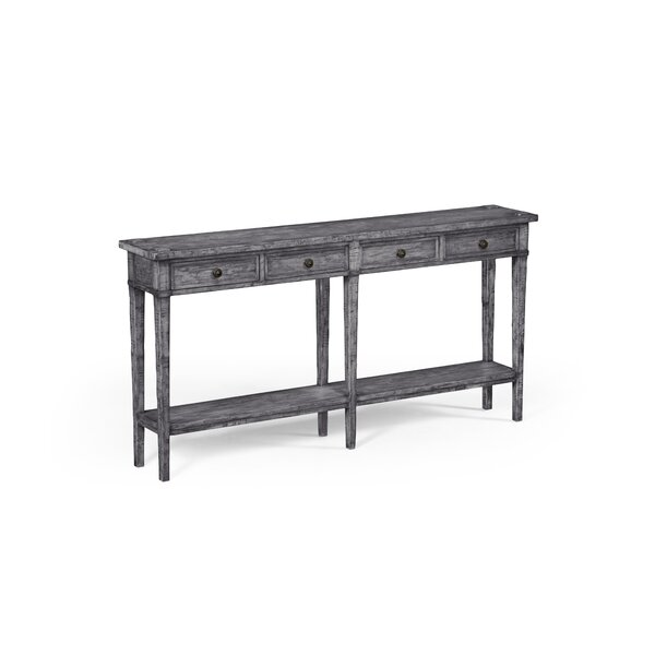 Drawer Console Table By Jonathan Charles Fine Furniture